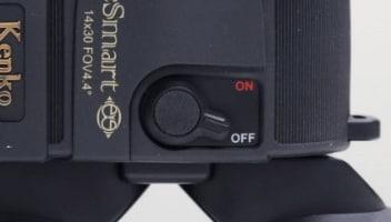 ケンコーVCスマート双眼鏡_防振機能ボタン