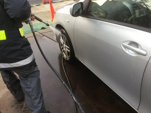 洗車_高圧洗浄機