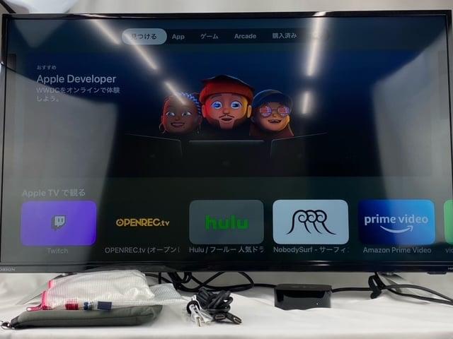 AppleTV_ゲーム